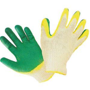 Перчатки хб с двойным латексным обливом 13 КЛАСС, цена без НДС.