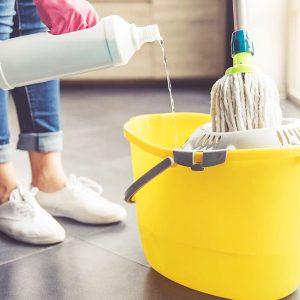 Средства для уборки помещений и пола