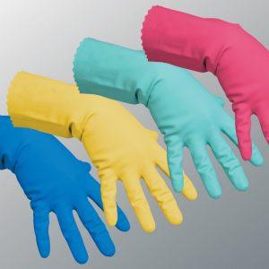 Перчатки химостойкие, маслобензостойкие, хозяйственные.