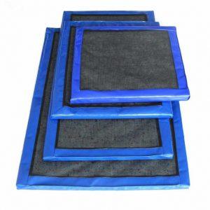 Дезинфицирующий коврик для обуви 50х50х3 см, цена без НДС.