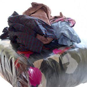 Ветошь СТАНДАРТ , 70% х/б и 30% синтетика, цветн. трикотаж (майки, футболки). Цена без НДС за 1 кг. Безнал. От 50 кг.
