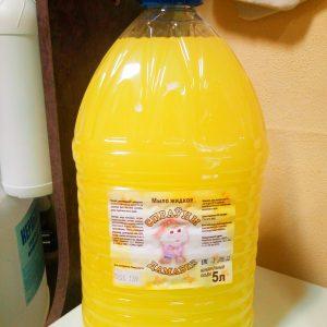 Мыло жидкое, 5 л «Спрауны Дамавик», цена без НДС. Безнал.