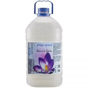 Крем-мыло «Роса», 5 л (фиалка+молоко, персик+черешня, алоэ+ зелень).Цена без НДС. Безнал