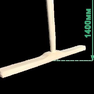 Швабра деревянная усиленная (основание 50 см, рукоятка 1400 мм), цена без НДС.