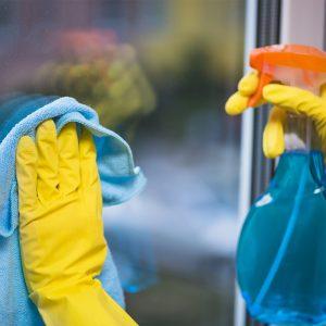 Средства для мытья окон и стекла, инвентарь для мытья окон