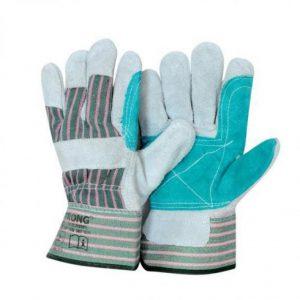Перчатки «ДОКЕР» спилковые, комбинированные, усиленные. Цена без НДС.