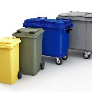 Контейнеры для сбора мусора, ведра и корзины для мусора