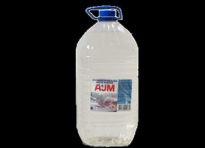 Мыло антибактериальное жидкое «AJM» 5000 мл, цена без НДС.