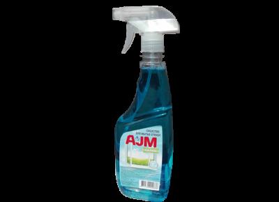 Средство для мытья стекол «AJM», 700 мл, с триггером. Цена без НДС.